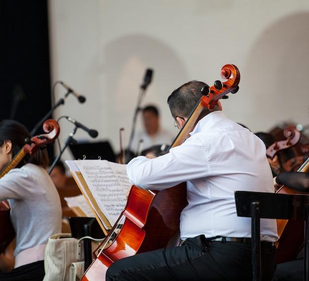 Orchestre dans la rue
