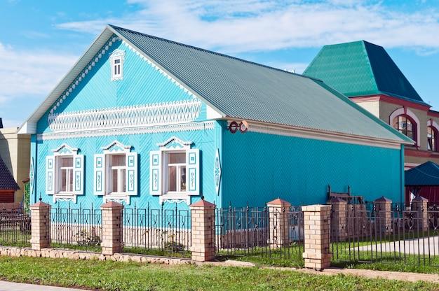 Orenbourg. village national. la maison-musée des tatars