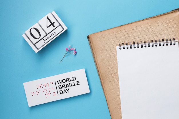 Organisation de la journée mondiale du braille
