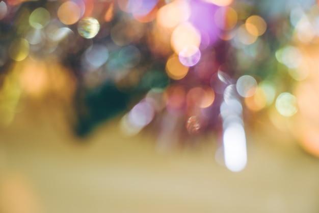 Ornement abstrait et ampoule décor de noël à joyeux noël et bonne année nig