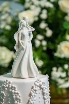 Ornement de gâteau de mariage