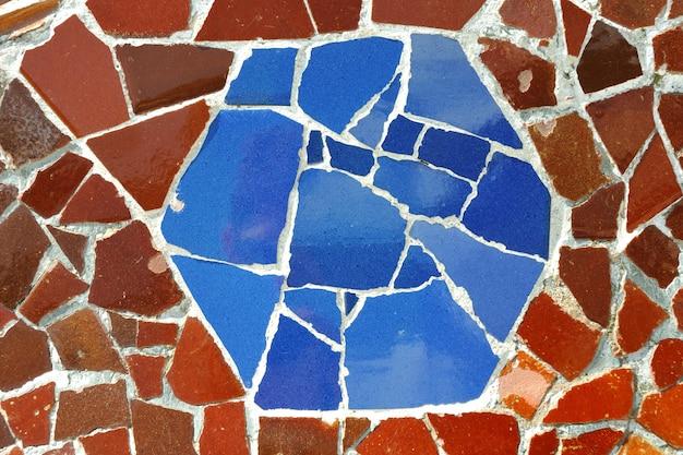 Ornement en mosaïque, barcelone
