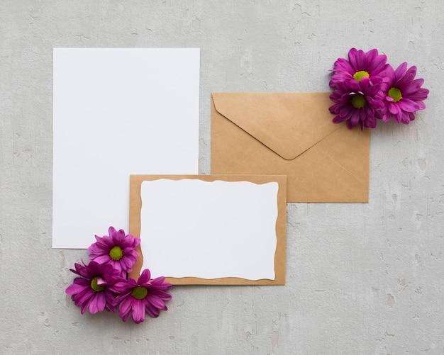 Ornements floraux pour le mariage