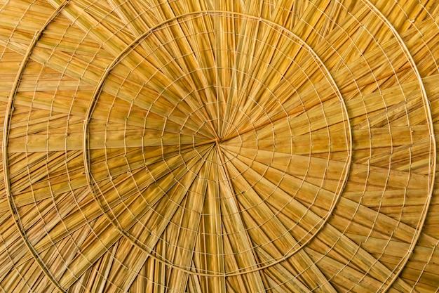 Osier de bambou fait à la main