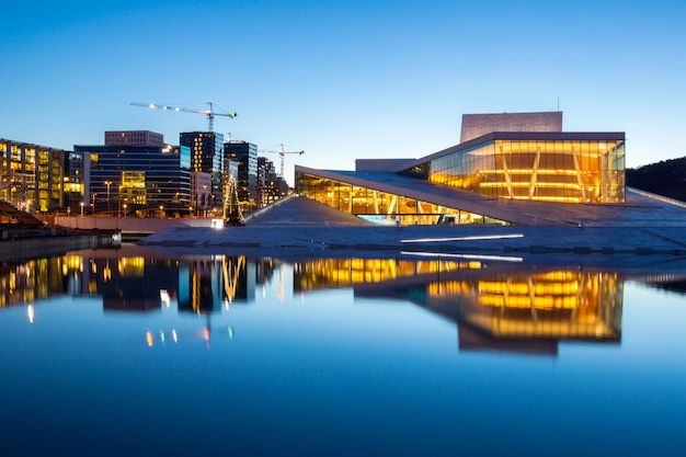 Oslo opera house norvège