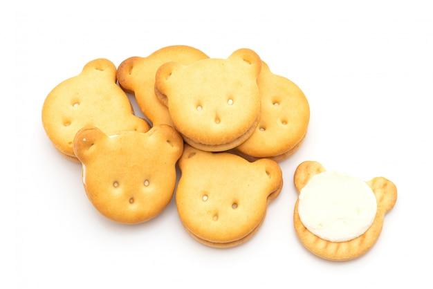 Ours biscuits à la crème