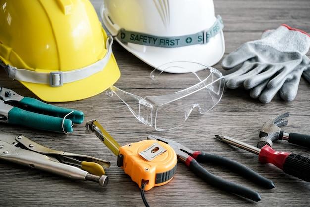 Outil artisan, pour homme travailleur, sécurité