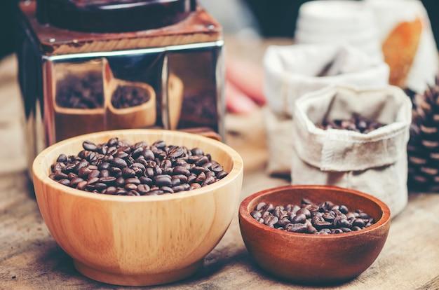 Outils à café vintage