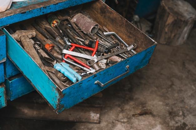 Outils de charpentier