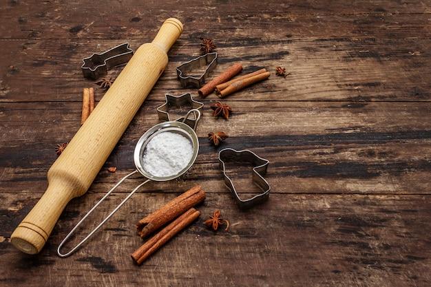 Outils de cuisson de noël pour la cuisson des biscuits