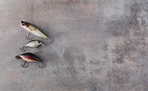 Outils de pêche