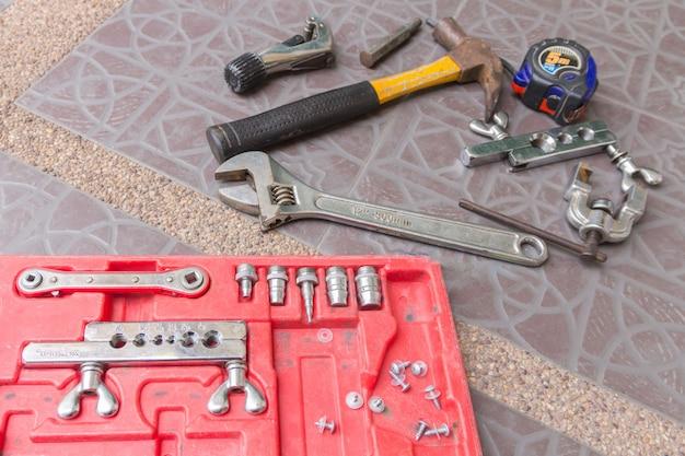 Outils pneumatiques travailler pour la climatisation