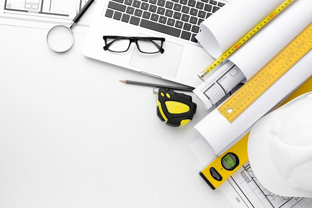 Outils de réparation haute vue et ordinateur portable