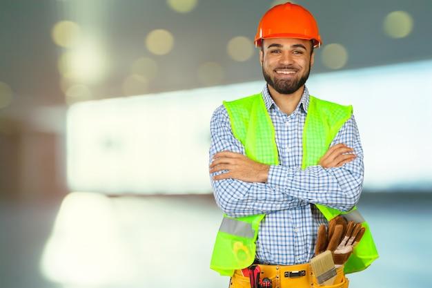 Ouvrier sur chantier