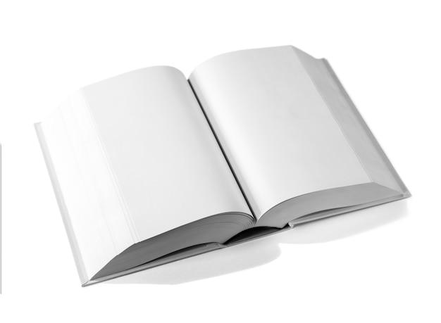 Ouvrir le dictionnaire vierge, livre isolé