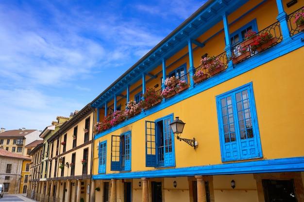Oviedo dans les asturies d'espagne