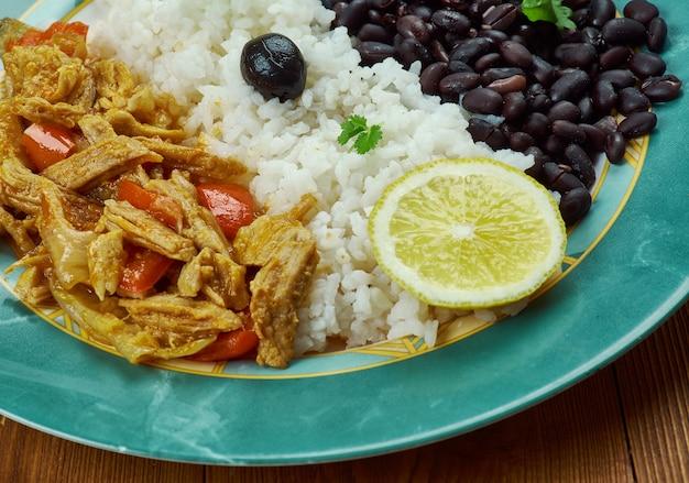 Pabellon criollo - plat traditionnel vénézuélien