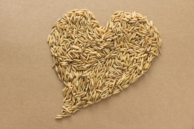 Paddy en forme de coeur