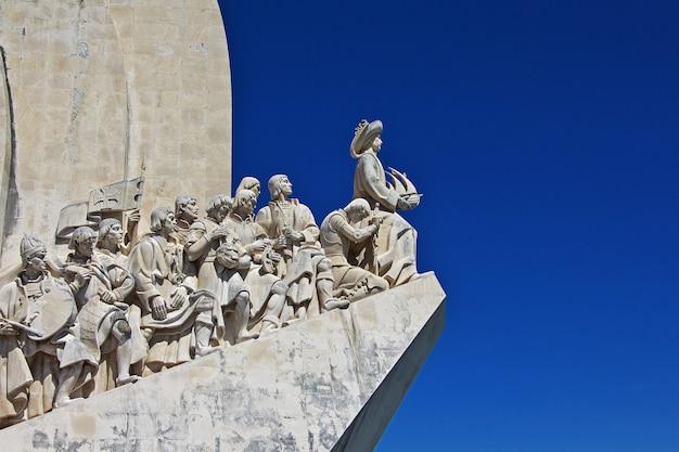 Padrao dos descobrimentos à belém, ville de lisbonne, portugal