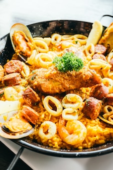 Paella espagnole