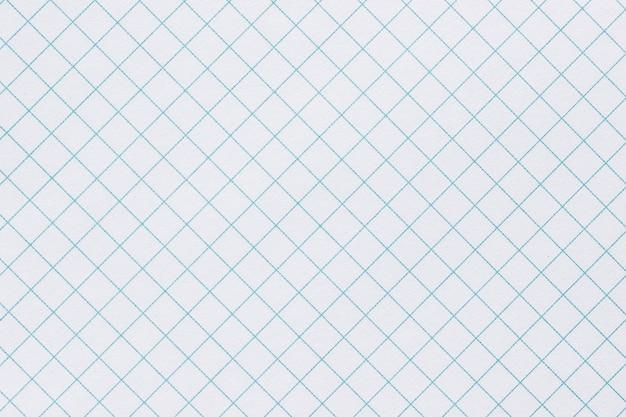 Page de papier dans une cage,