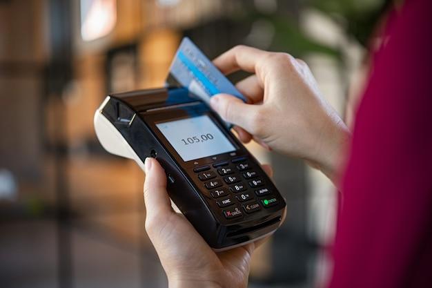 Paiement par carte de crédit