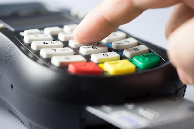 Paiement par mot de passe par carte de crédit et de débit