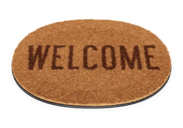 Paillasson de bienvenue ovale