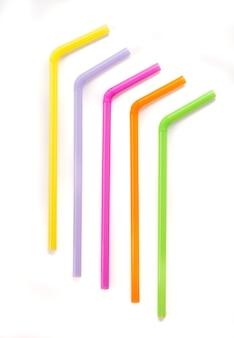 Paille colorée