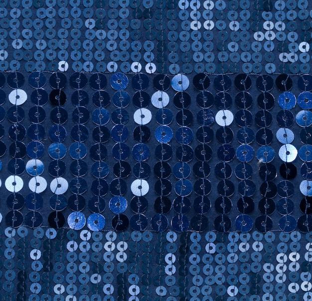 Paillette bleue