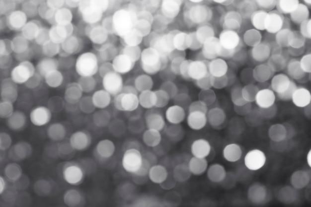 Paillettes argentées brillantes floues texturées