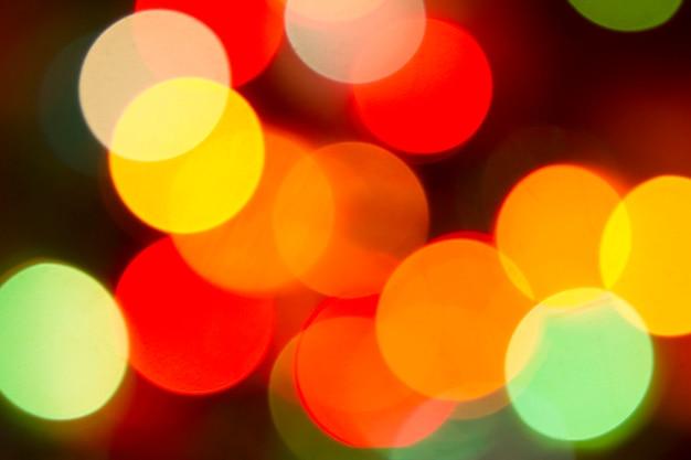 Paillettes bokeh couleur lumières fond défocalisé