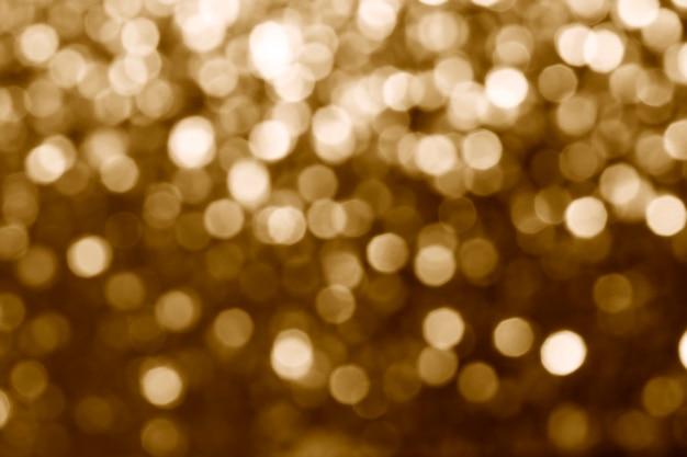 Paillettes dorées brillantes floues texturées | conception haute résolution
