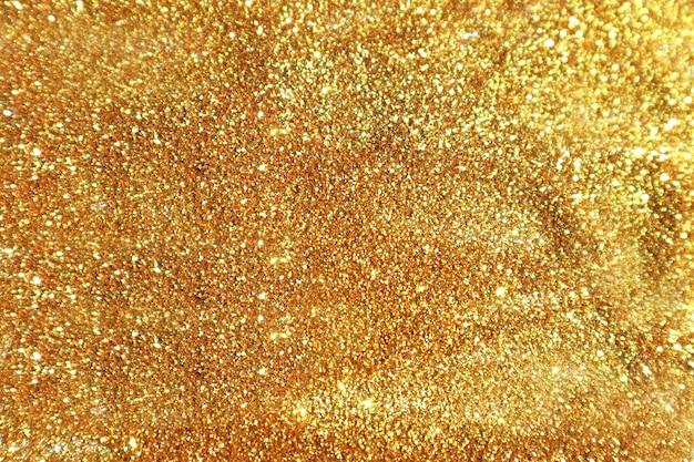Paillettes dorées élégantes