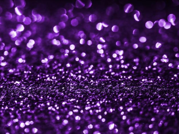 Paillettes de fond fond violet.