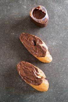 Pain au chocolat à la noisette