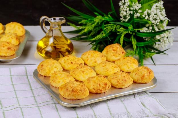 Pain au fromage à base de farine de yuca