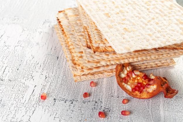 Pain azyme traditionnel de la pâque