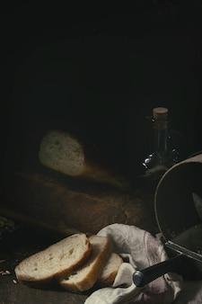 Pain de blé blanc fait maison
