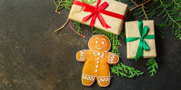 Pain d'épice. cadeaux et vacances