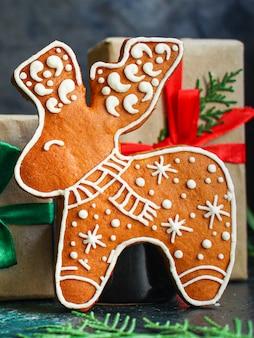 Pain d'épice noël sucré pâtisseries festives