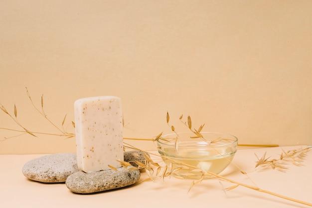 Pain de savon bio à l'huile de coco