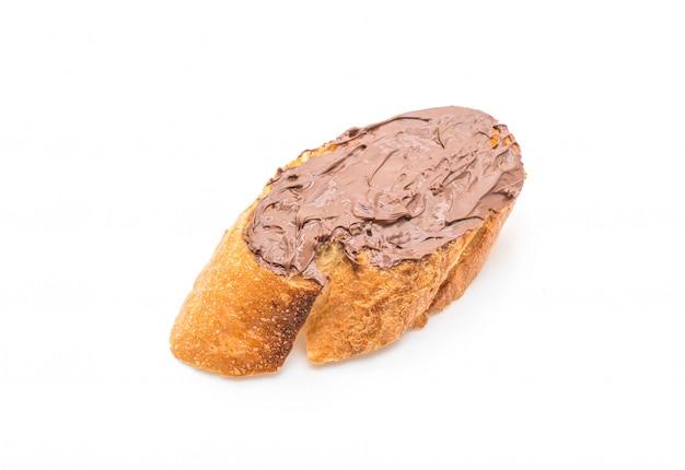 Pain à tartiner au chocolat et aux noisettes