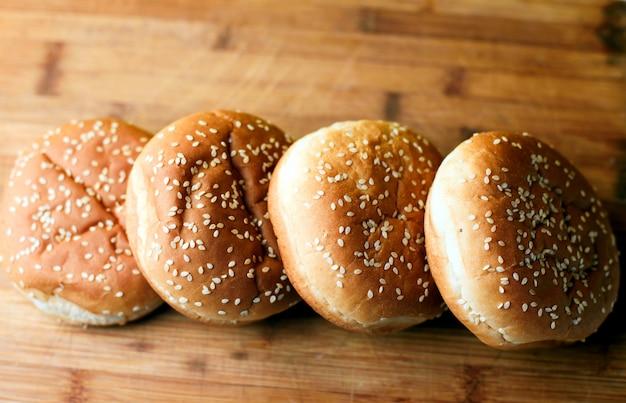 Les pains burger