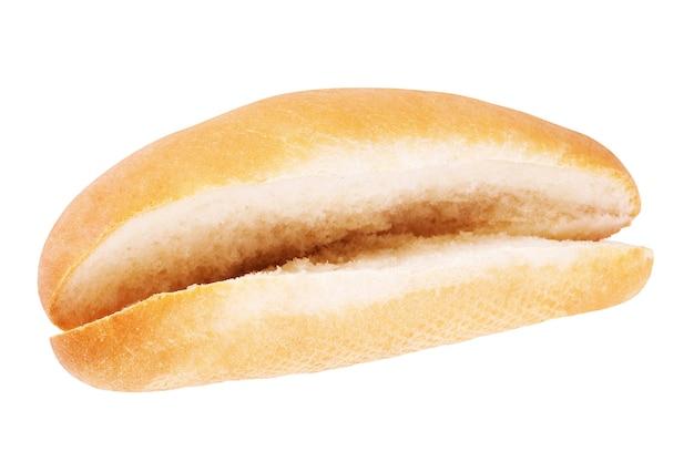 Pains à hot dog. isolé sur fond blanc