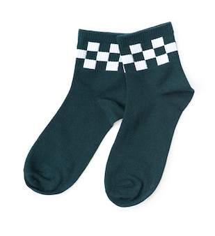 Paire de chaussettes vertes