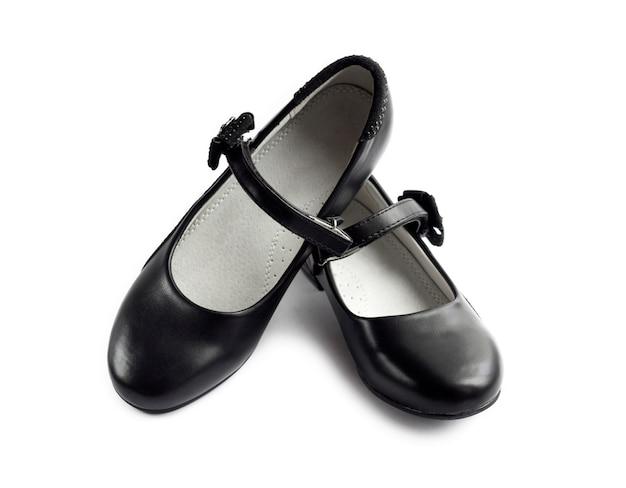 Paire de chaussures noires pour fille