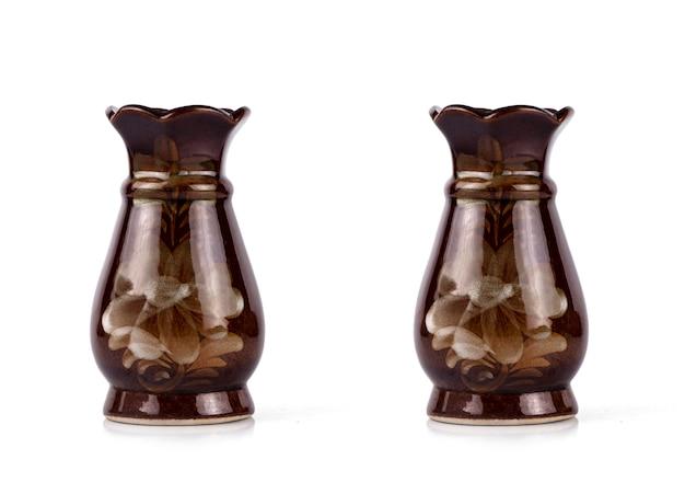 Paire de vases en céramique