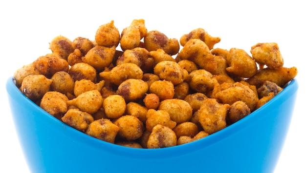 Pakora aux arachides épicées