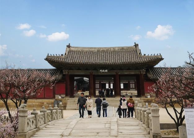 Palais changgyeonggung, séoul, corée du sud.